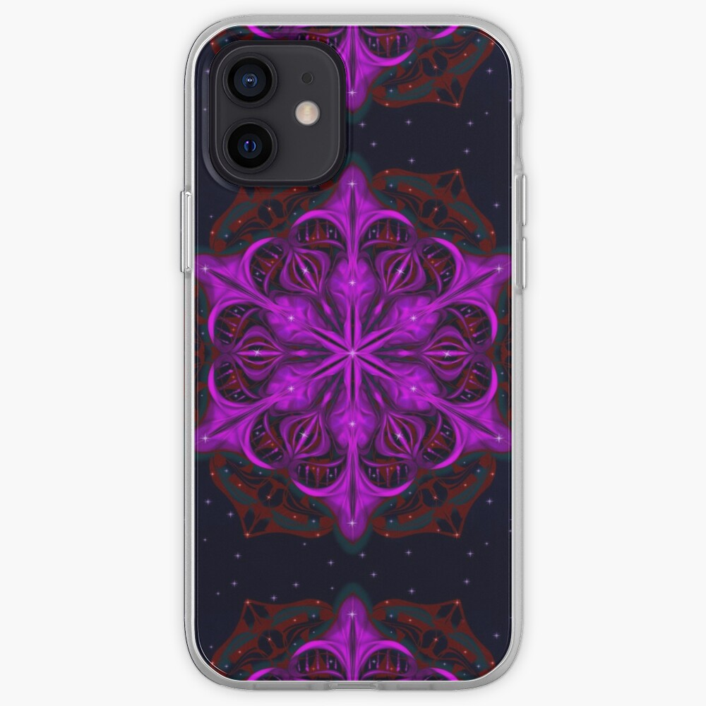 Spaceborne Orchid Snowflake iPhone Case & Cover