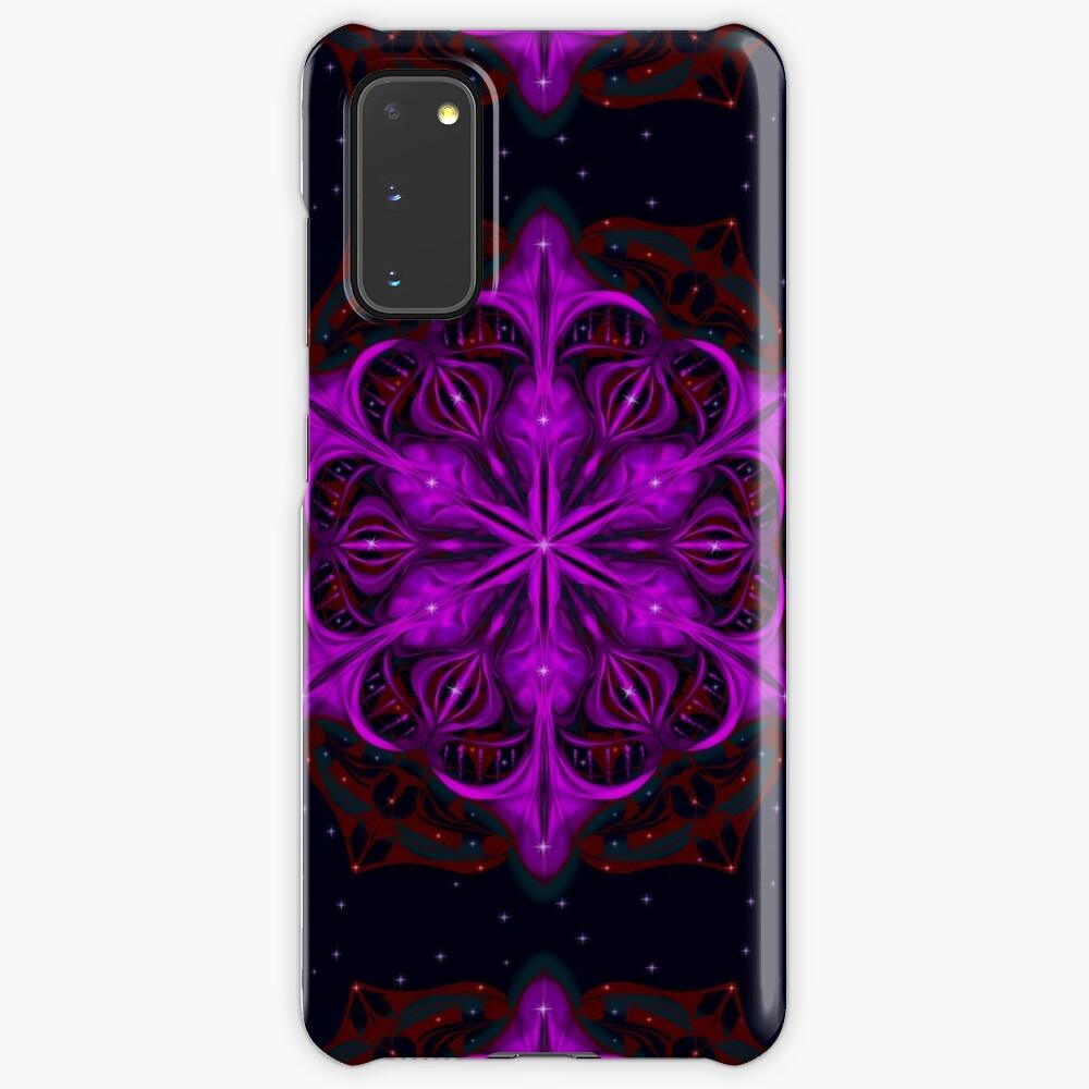 Spaceborne Orchid Snowflake Case & Skin for Samsung Galaxy