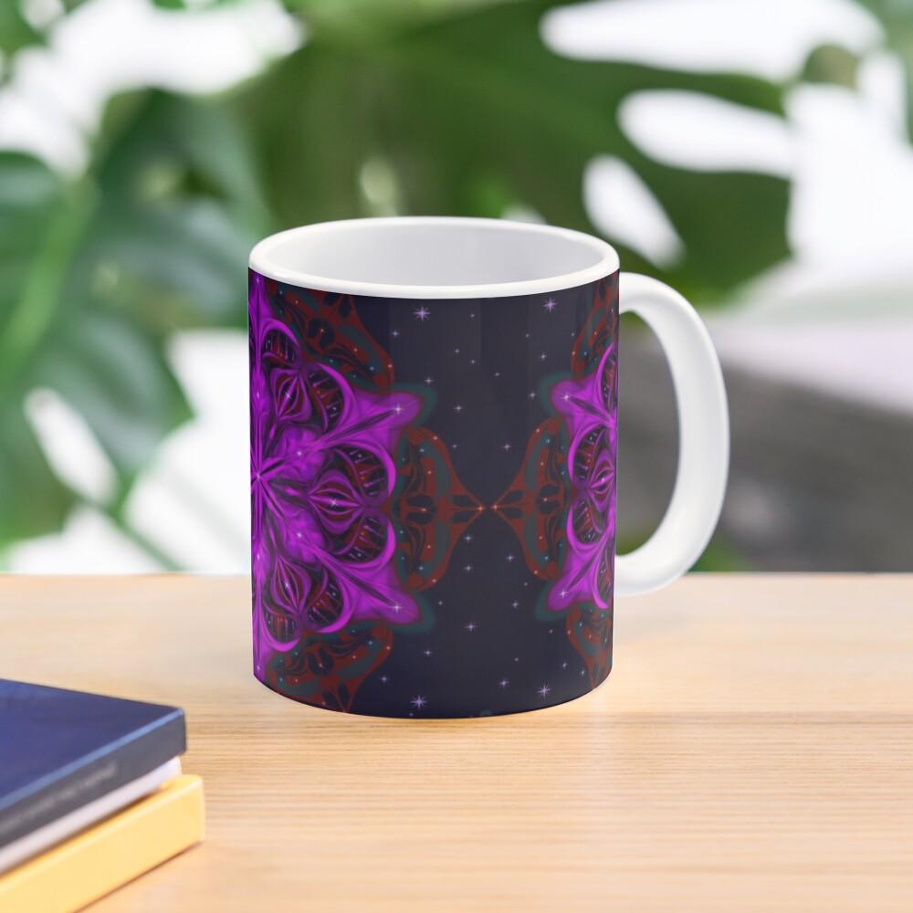 Spaceborne Orchid Snowflake Mug