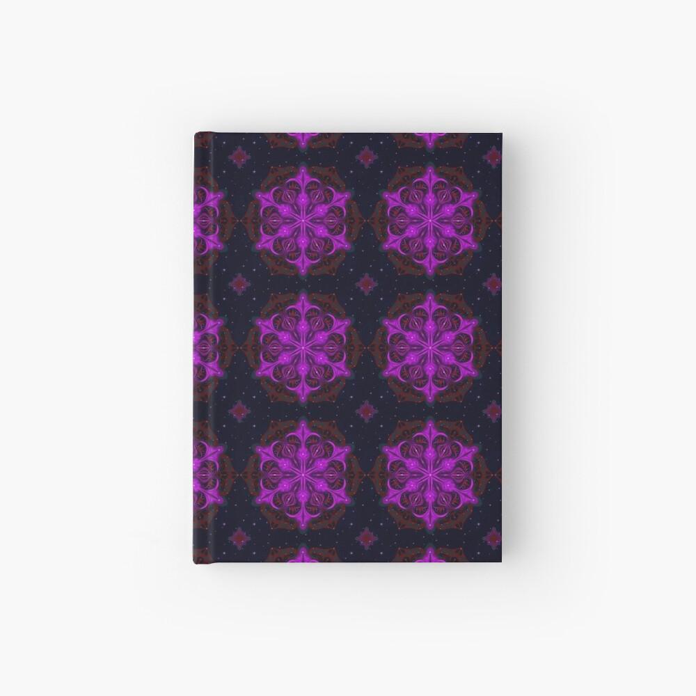 Spaceborne Orchid Snowflake Hardcover Journal