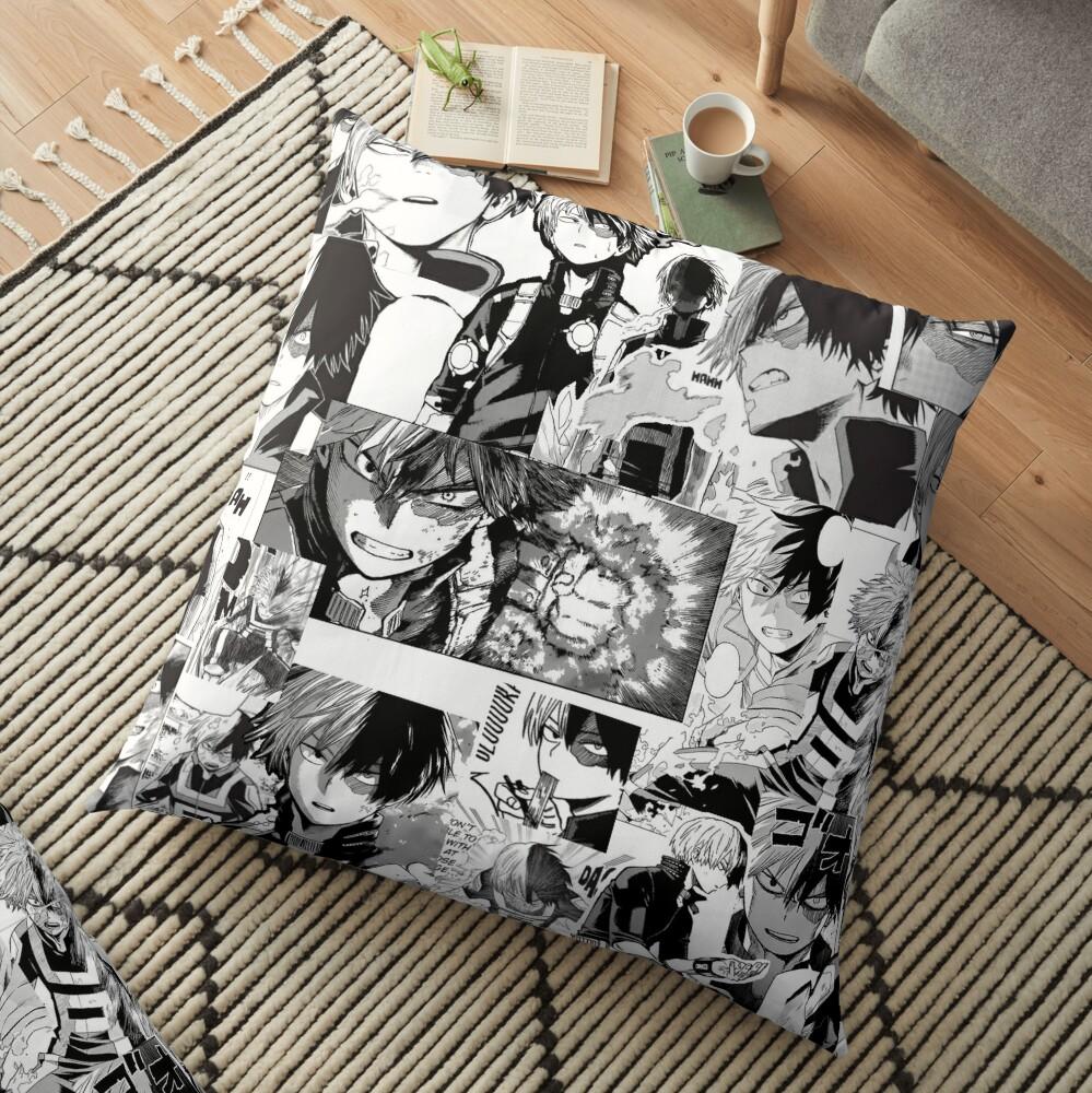 todoroki shoto Floor Pillow