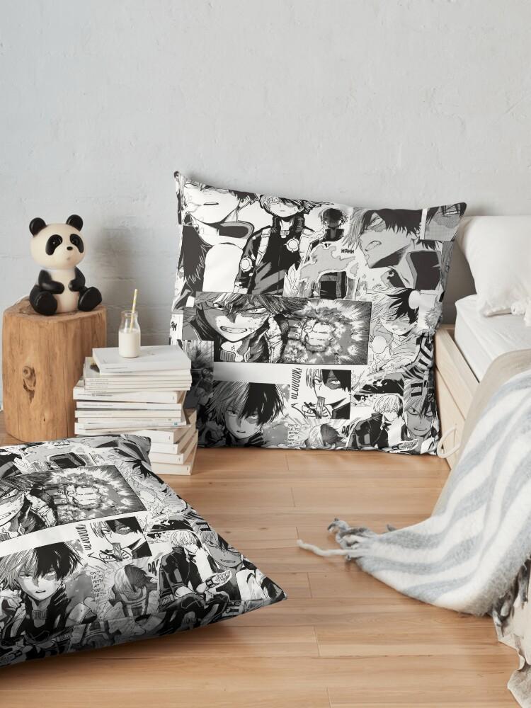 Alternate view of todoroki shoto Floor Pillow