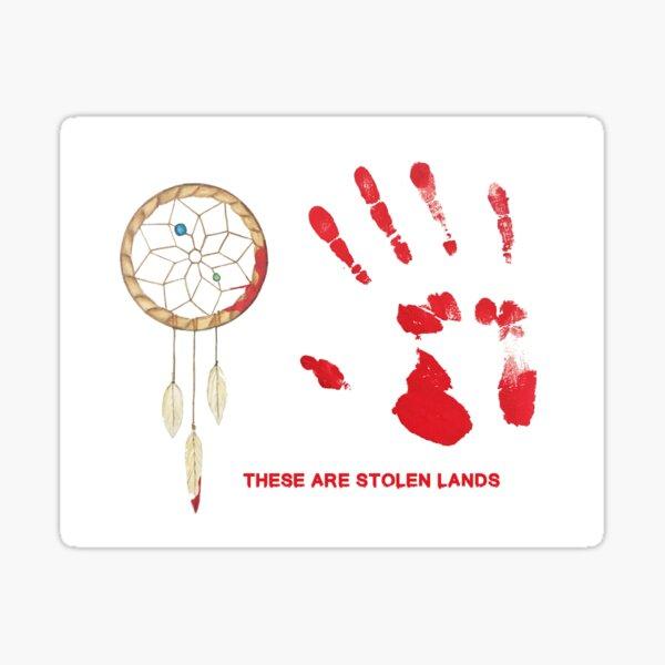 These Are Stolen Lands Sticker
