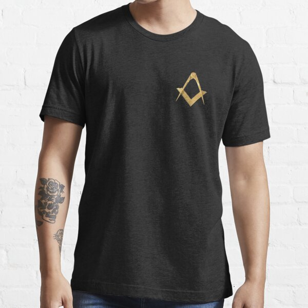 Adult Sizes Womens T-Shirt Freemason Square and Compass Women Shirt SZ S-XL