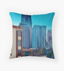 Charlotte Buildings Throw Pillow