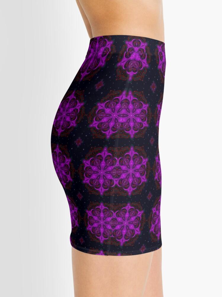 Alternate view of Spaceborne Orchid Snowflake Mini Skirt