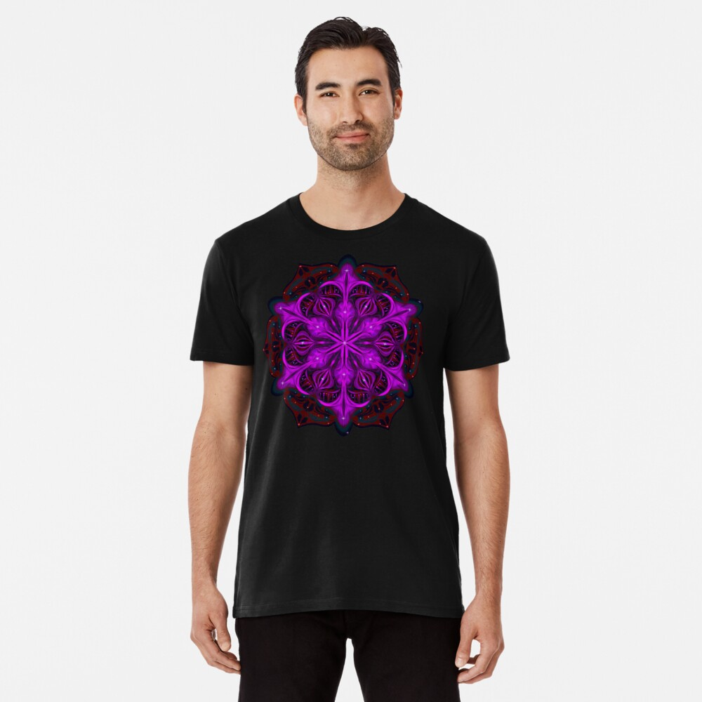 Spaceborne Orchid Snowflake Premium T-Shirt