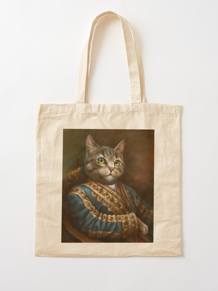 Alternate view of The Hermitage Court Outrunner Cat  Tote Bag