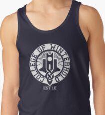 College of Winterhold Est. 1E (white) Tank Top