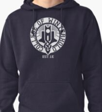 College of Winterhold Est. 1E (white) Pullover Hoodie