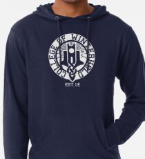 College of Winterhold Est. 1E (white) Lightweight Hoodie