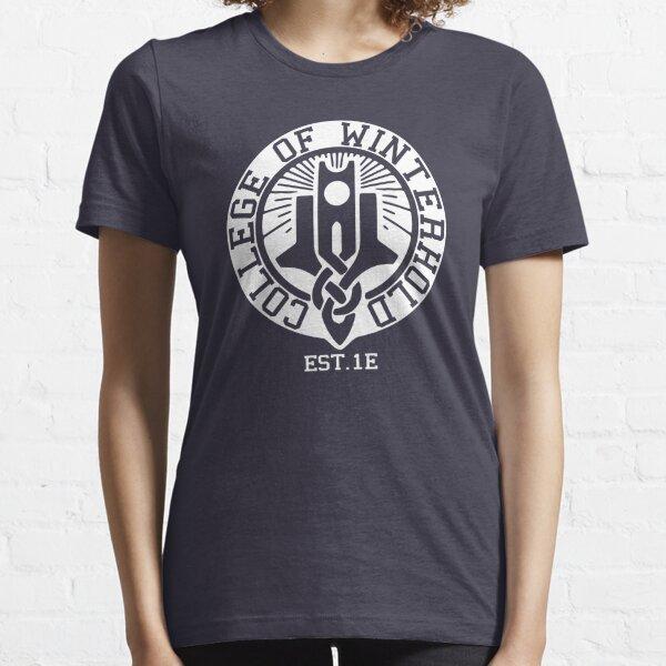 Collège de Winterhold Est. 1E (blanc) T-shirt essentiel