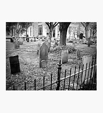 Church Yard~ Old Dutch Church Photographic Print