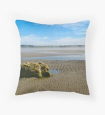 Mavillette Beach VII Throw Pillow