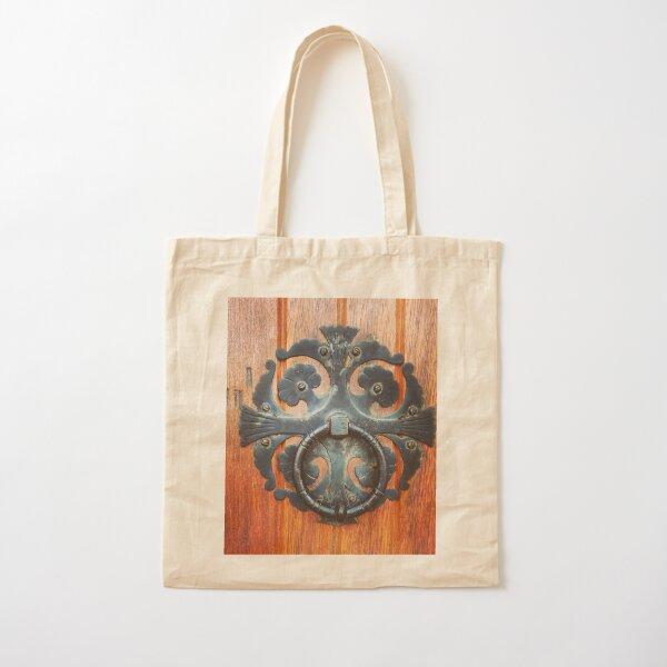 Cathedral Door Cotton Tote Bag