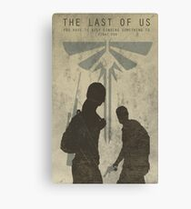 Lienzo The Last Of Us Game Poster