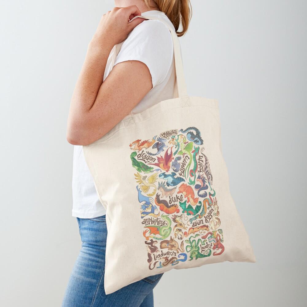 Mini dragon compendium  Tote Bag