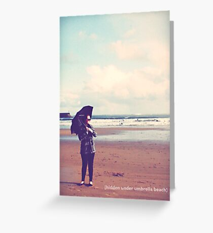 do you want to go to the seaside? Greeting Card