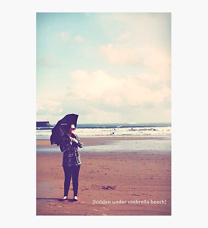 do you want to go to the seaside? Photographic Print