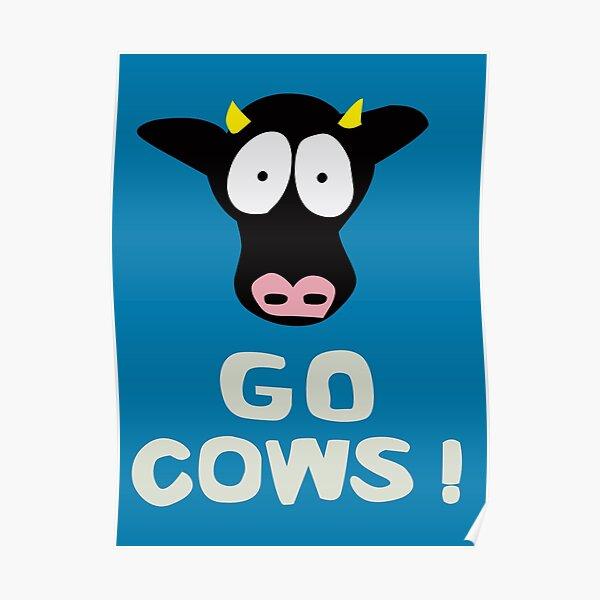 GO COWS   South Park Poster