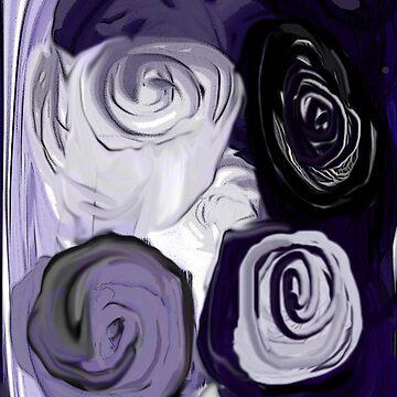 Purple Rose Medley  by ursula4509