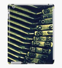 Typewriter Keys iPad Case/Skin