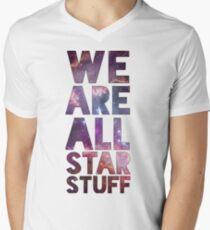 We Are All Starstuff Men's V-Neck T-Shirt