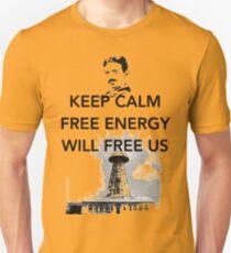 Keep Calm Tesla Free Us T-Shirt