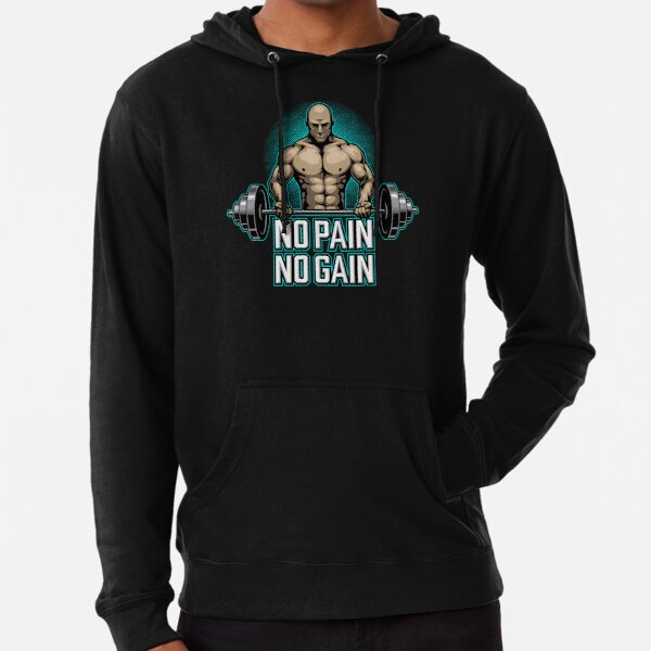 BODY BUILDING FITNESS GYM  Lightweight Hoodie