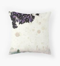 Calib and Odessa Looking Up Throw Pillow
