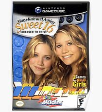 Mary Kate and Ashley Sweet 16 Licensed to Drive Poster