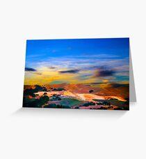 Pleasanton Sunset Greeting Card