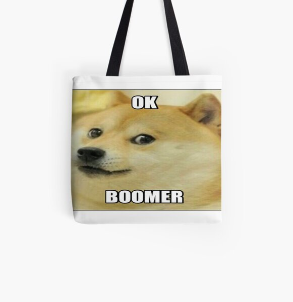 Shibedoge In A Bag Roblox Doge Bags Redbubble