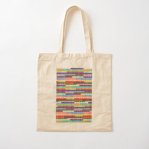 Alfombra de trapo multicolor Bolsa de algodón