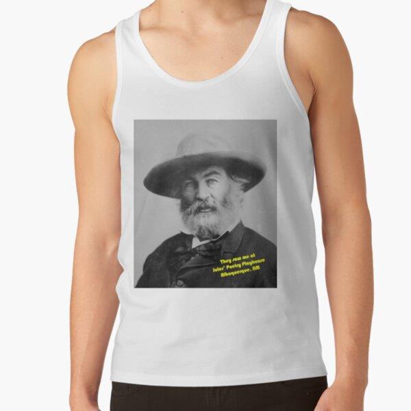 Walt Whitman at Jules Poetry Playhouse Tank Top