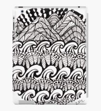 Hills Over Waves iPad Case/Skin