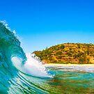 Hawaiian Bay Wave by Kana Photography