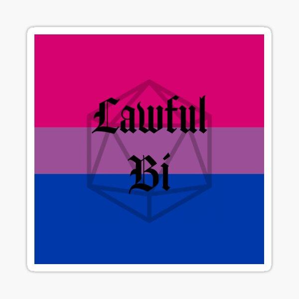Lawful Bi Sticker