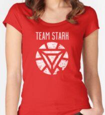 Team Stark - Civil War Women's Fitted Scoop T-Shirt