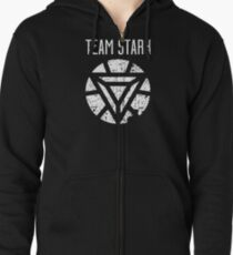 Team Stark - Civil War Zipped Hoodie