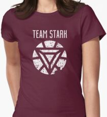 Team Stark - Civil War Women's Fitted T-Shirt