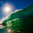 Pipeline Sun by Kana Photography