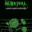 Survival book cover from a poets speak anthology  by Jules Nyquist