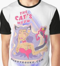 The Cat's Meow Graphic T-Shirt