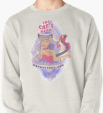 The Cat's Meow Pullover Sweatshirt