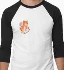 Mandy Fox Girl Baseball ¾ Sleeve T-Shirt