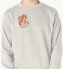Mandy Fox Girl Pullover Sweatshirt
