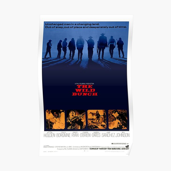 The Wild Bunch 1969 Poster