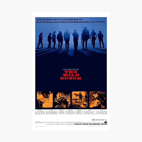 The Wild Bunch 1969 Photographic Print