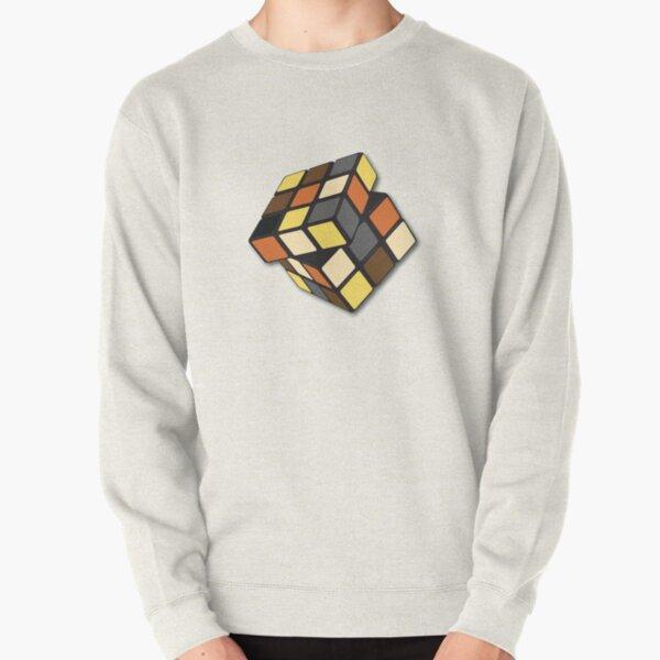 Rubik Cube Bear Pullover Sweatshirt